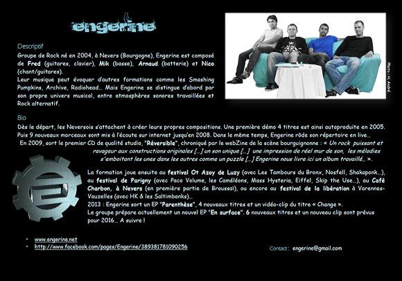 Engerine: bio